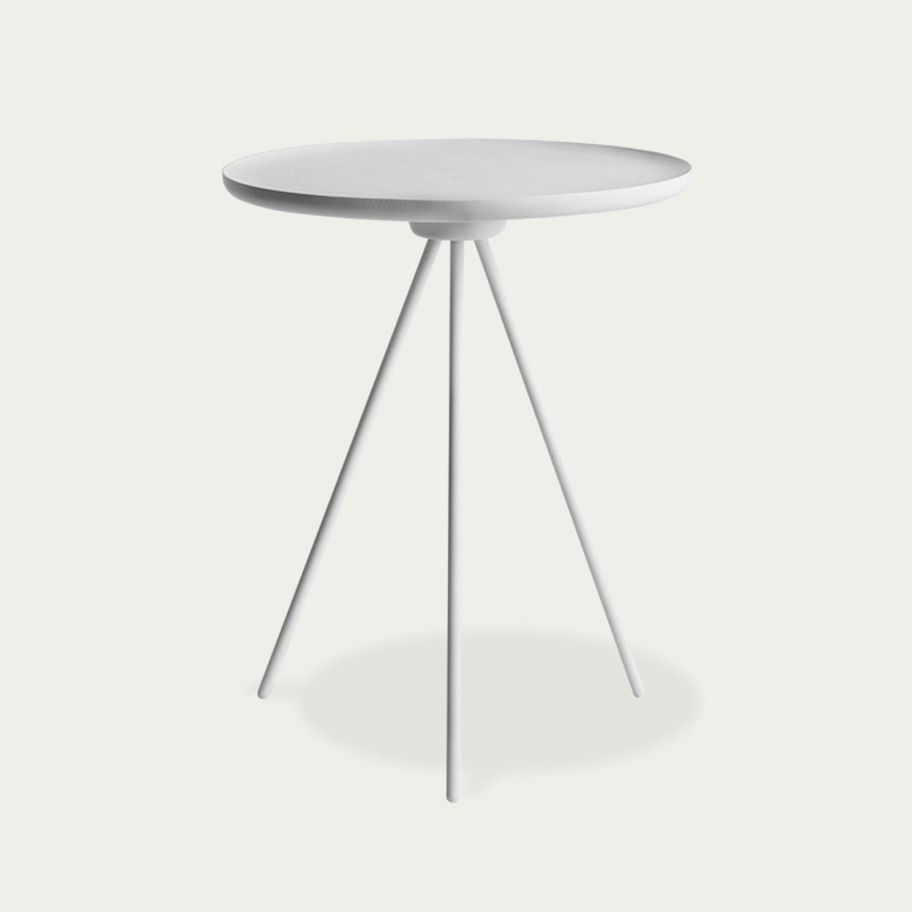 White-White Key Side Table | Bombinate