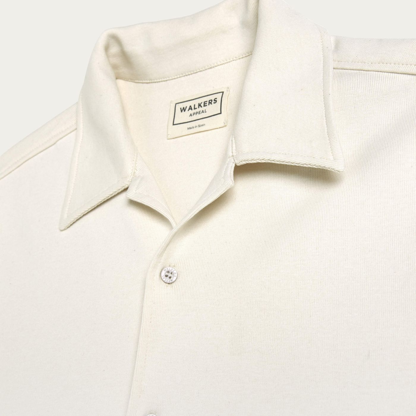 White Organic Cotton Shirt   Bombinate