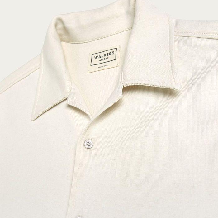 White Organic Cotton Shirt | Bombinate