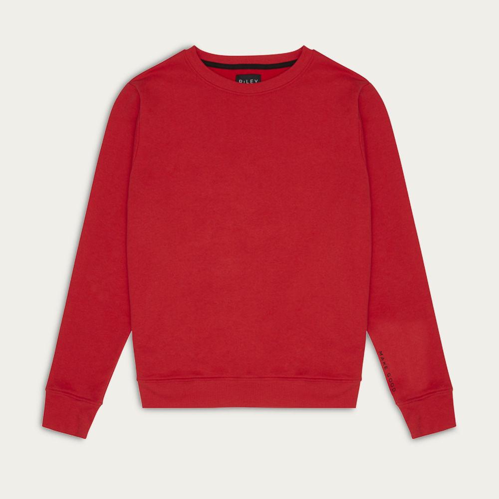 Red Make Good Classic Sweatshirt  | Bombinate