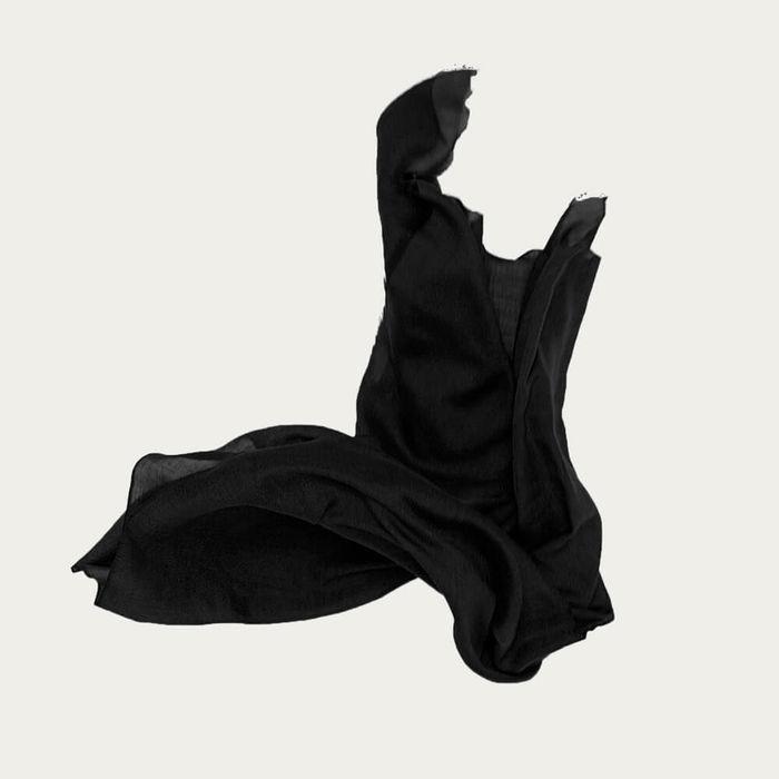 Black Roberta Cashmere Scarf | Bombinate
