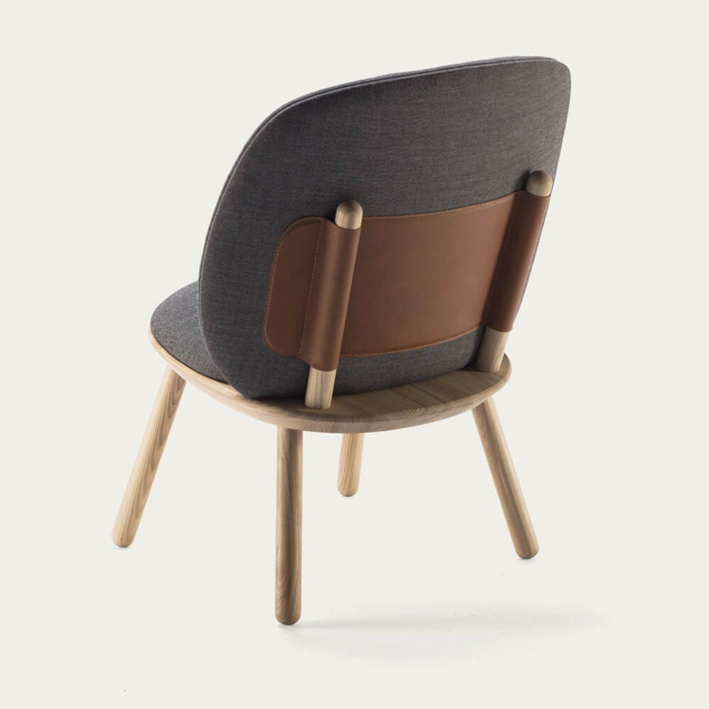 Grey Naive Low Chair | Bombinate