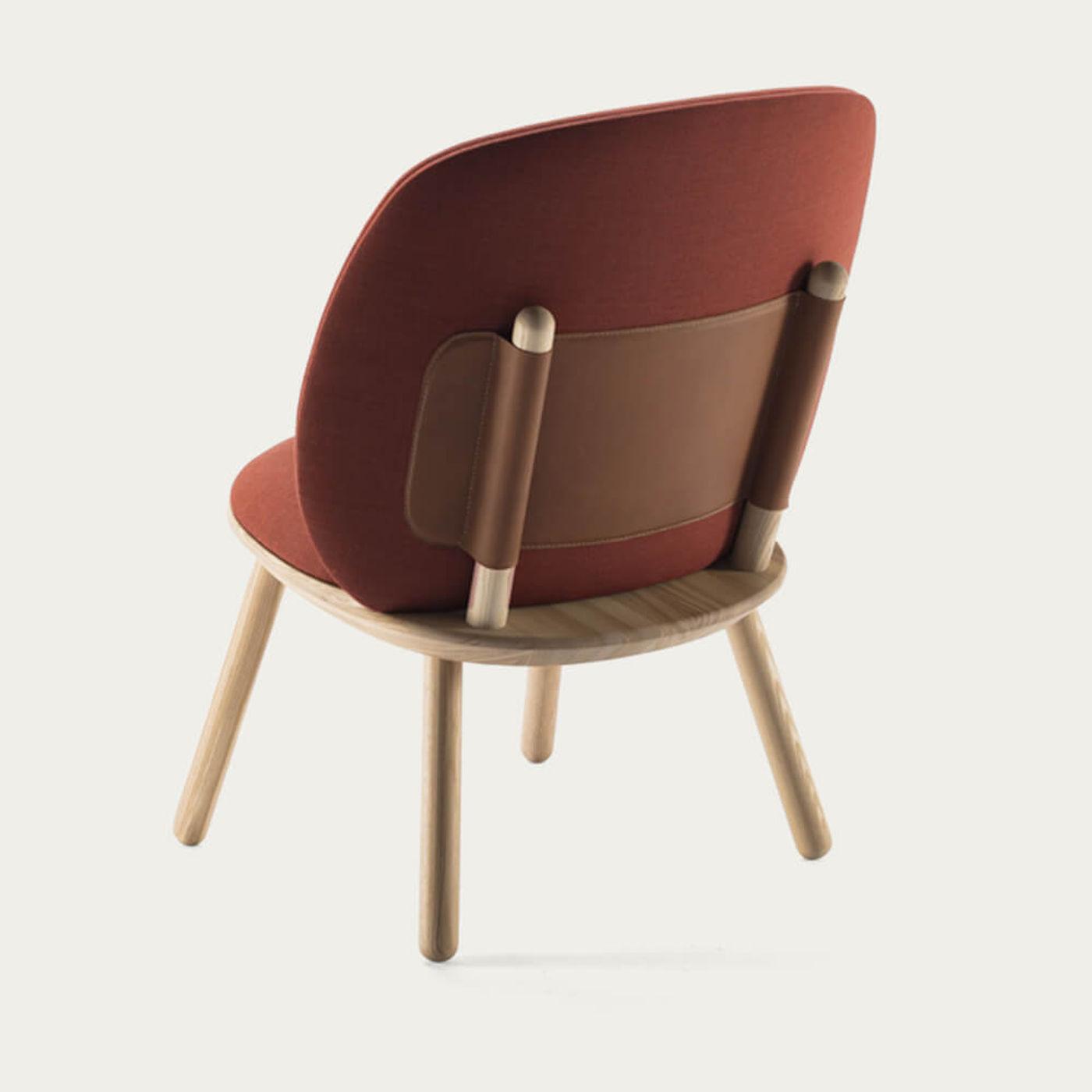 Cognac Naive Low Chair | Bombinate