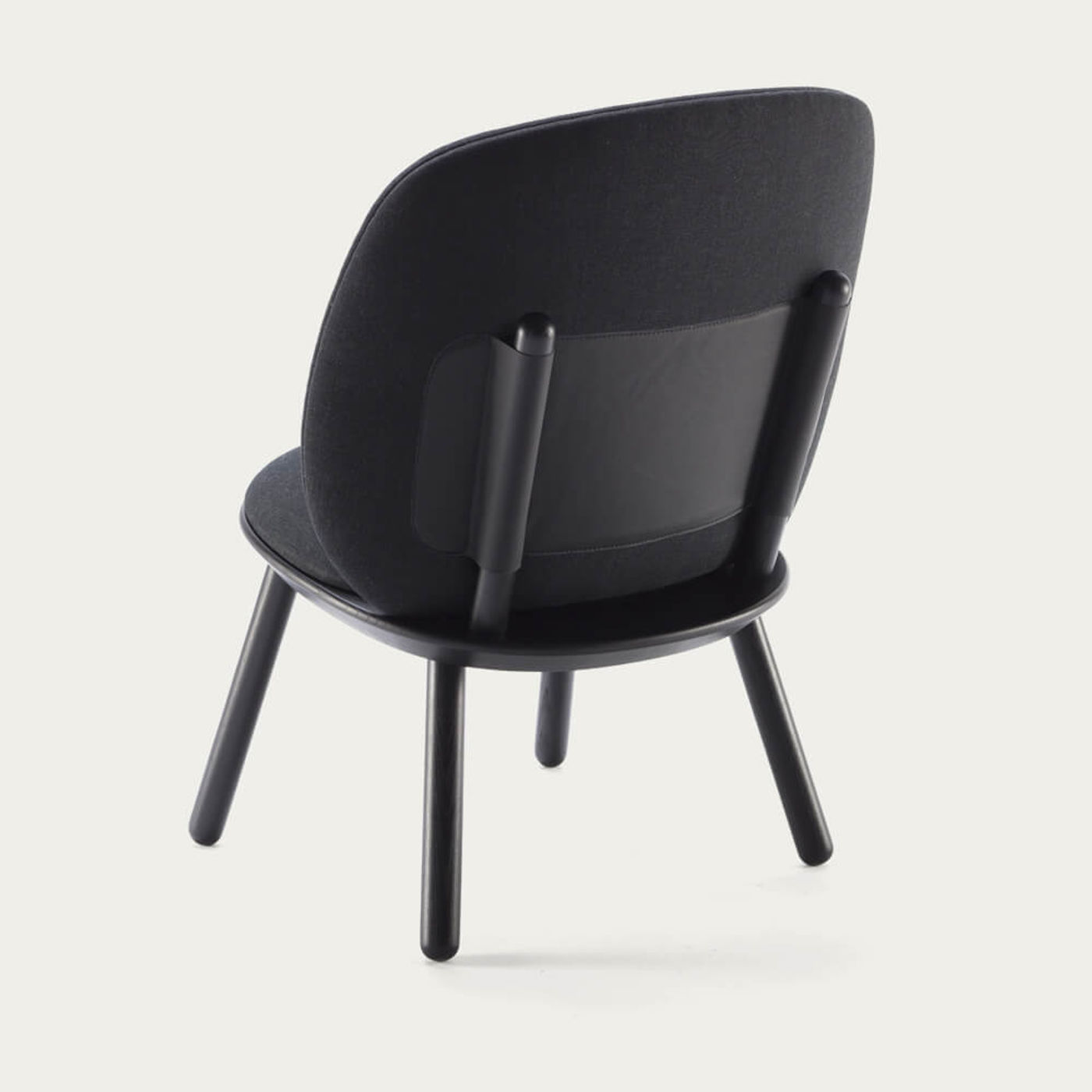 Black Naive Low Chair | Bombinate