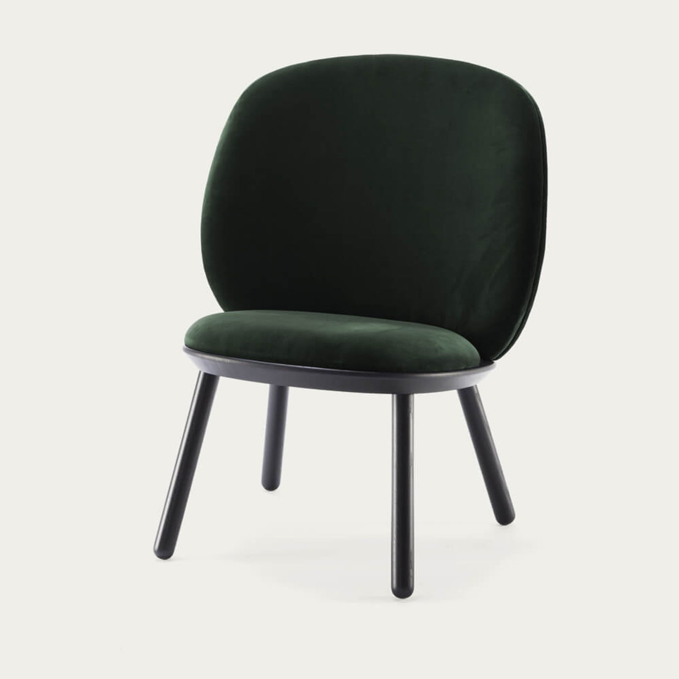 Green Naive Low Chair   Bombinate