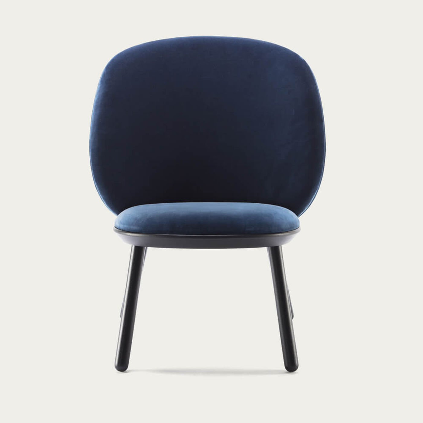 Blue Naive Low Chair   Bombinate