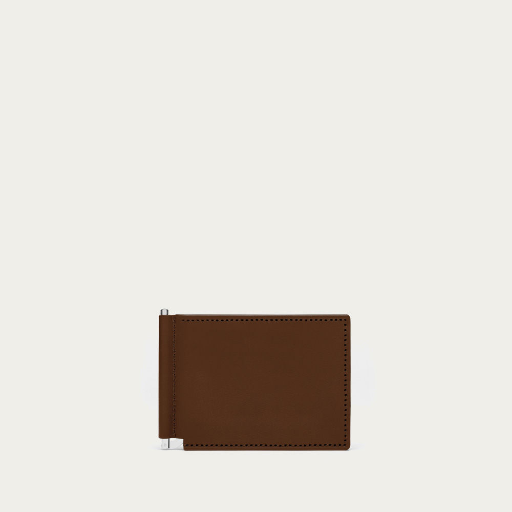 Brown Broome Leather Wallet | Bombinate