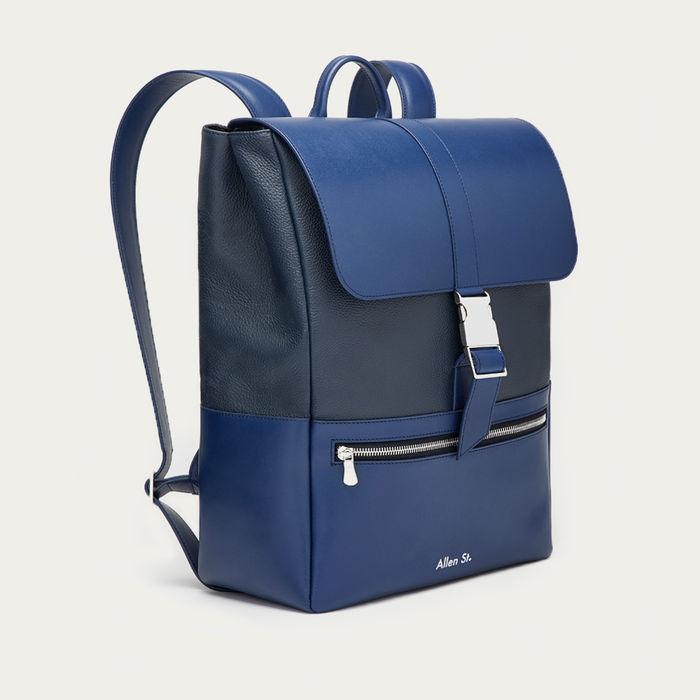 Blue Lafayette Backpack | Bombinate