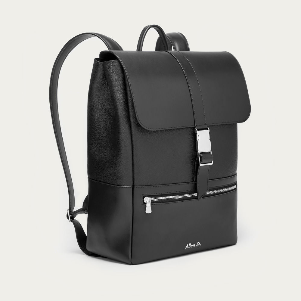 Black Lafayette Backpack | Bombinate