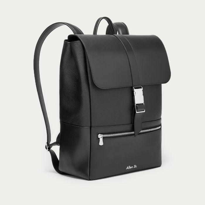 Black Lafayette Backpack   Bombinate