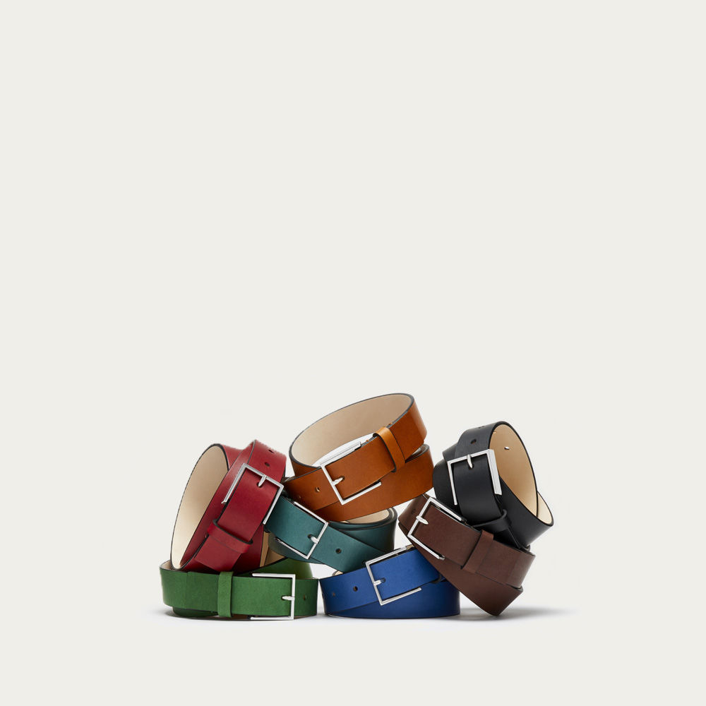 Cognac Rivington Belt | Bombinate