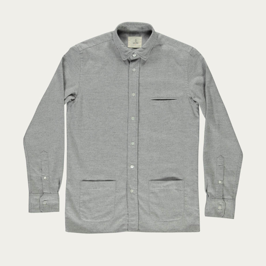 Light Grey Castro Shirt | Bombinate