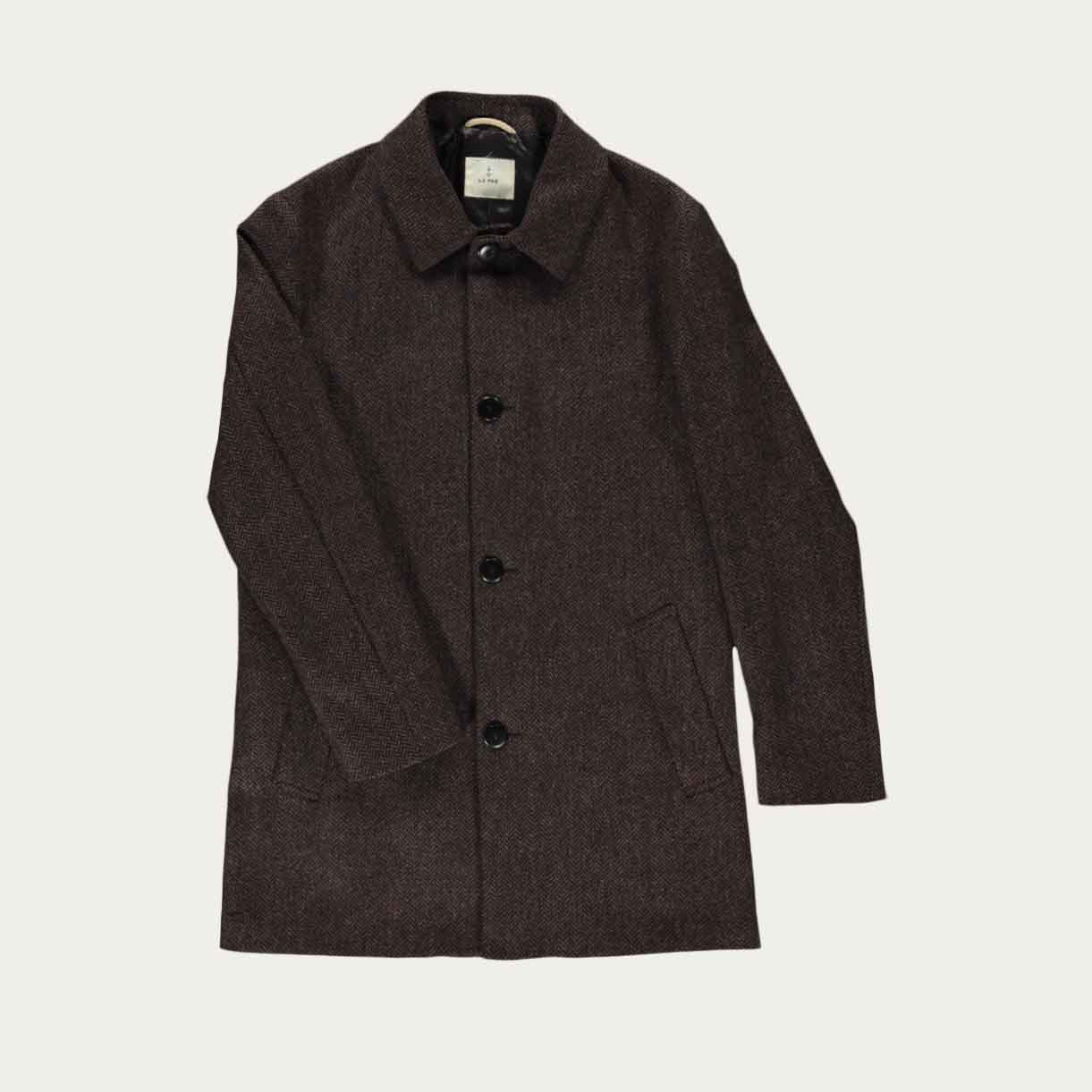Brown Black Heavey Coat | Bombinate