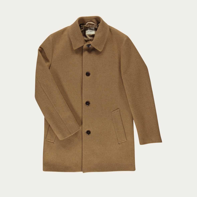 Camel Heavey Coat | Bombinate