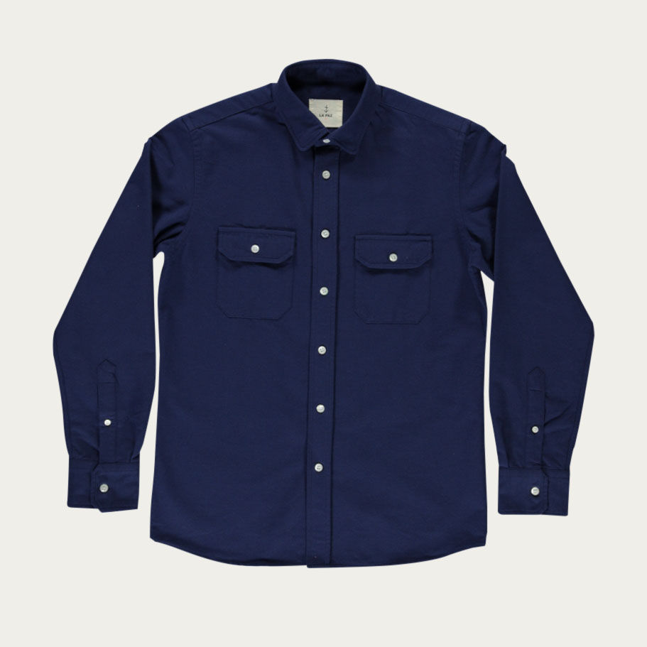 Navy Pacheco Shirt  | Bombinate