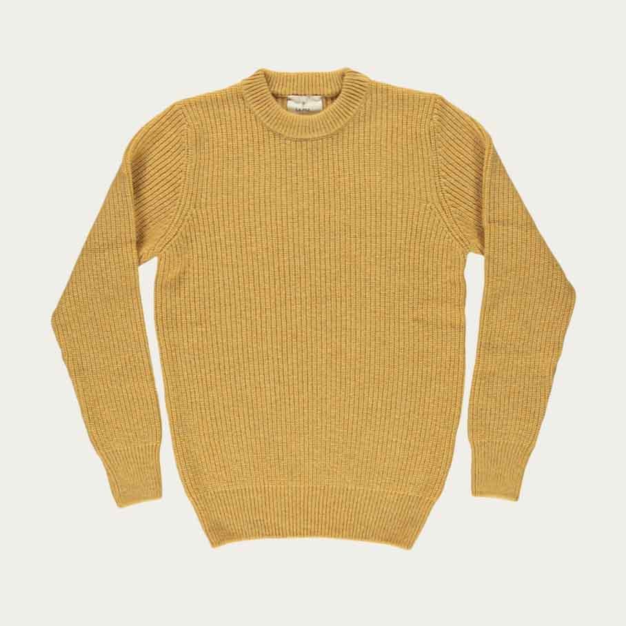 Dark Yellow Teixeira Knit  | Bombinate