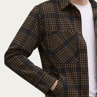 Black Tan Checkmate Flannel Workshirt | Bombinate