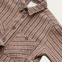 Hazel Mini Hound Flannel Workshirt | Bombinate