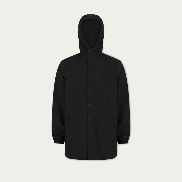 Black Base Parka | Bombinate