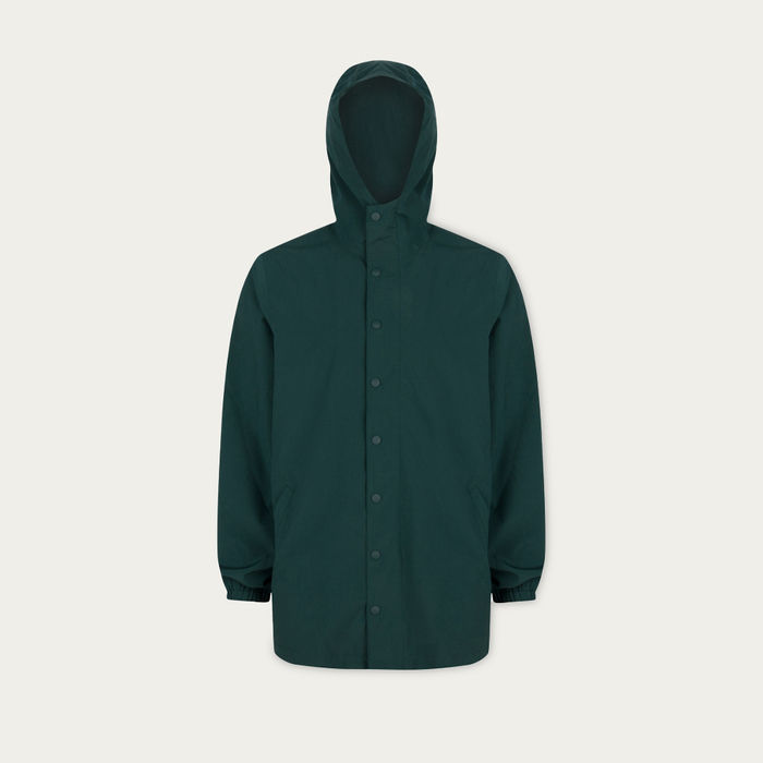 Green Base Parka | Bombinate