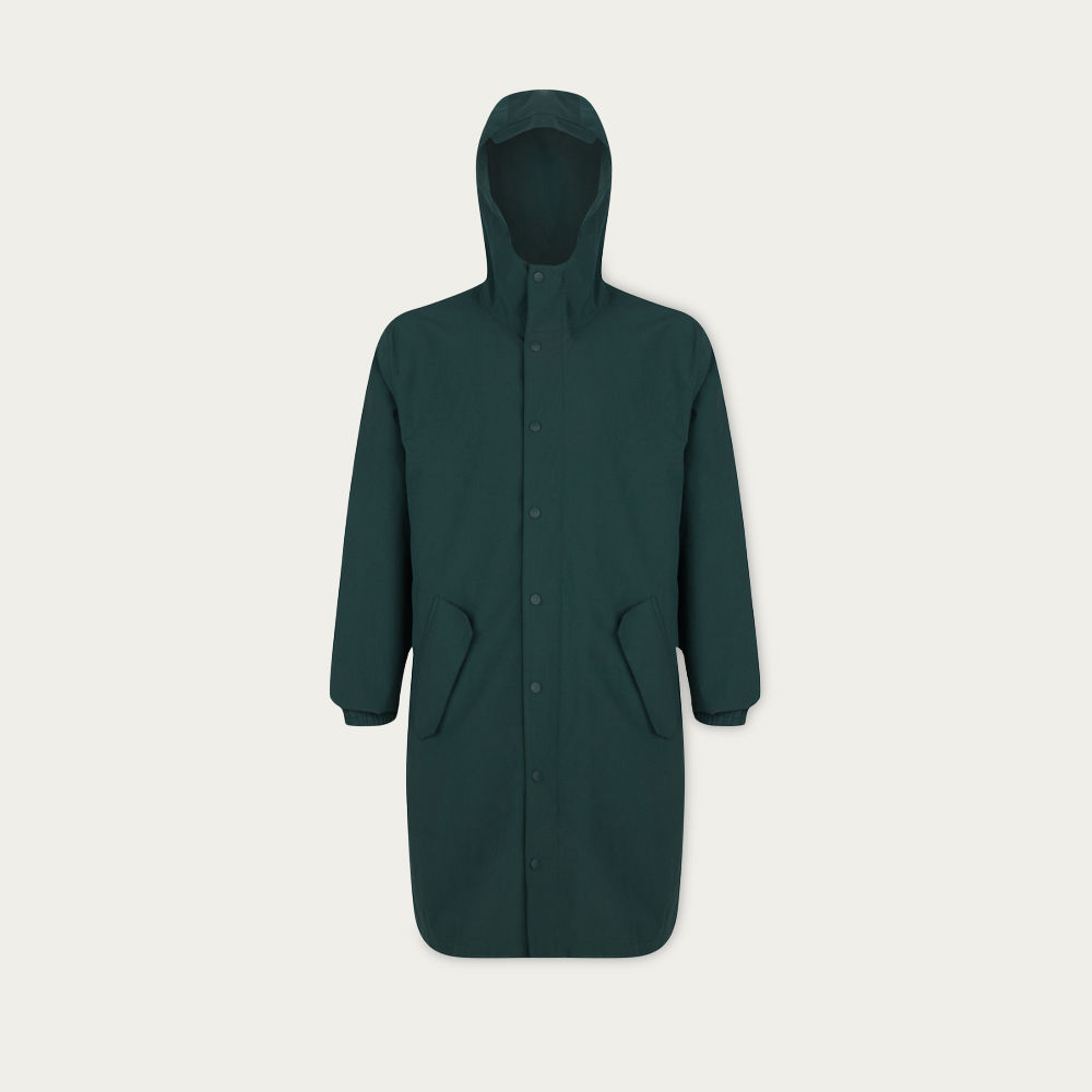Green Lizard Blizzard Parka | Bombinate