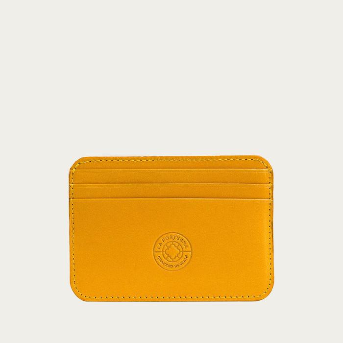 Yellow Humphrey Cardholder   Bombinate