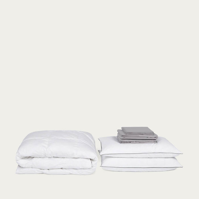 Grey Move-in Set Excellence Winter Duvet | Bombinate