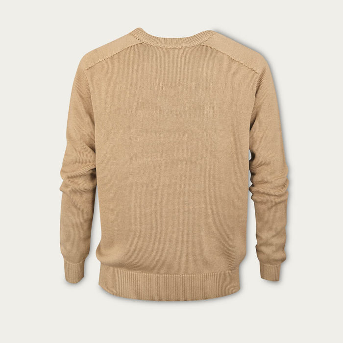 Camel The Silk Cotton Sweater | Bombinate
