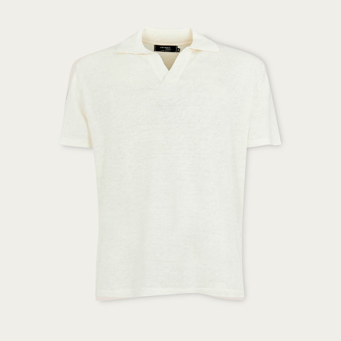 Ivory The Linen Polo | Bombinate