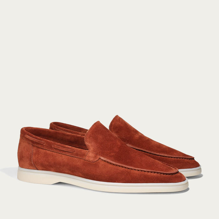 Sienna Suede Yacht Loafer | Bombinate