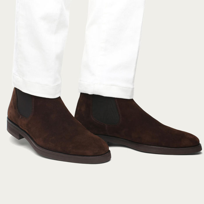 Brown Classic Chelsea Boot | Bombinate
