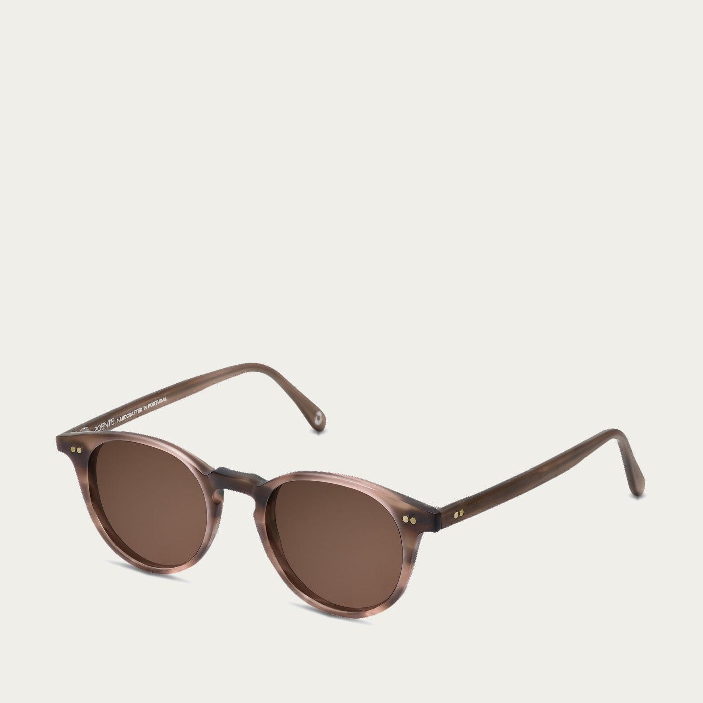 Chocolate Tortoise Matte Cool Kid Sunglasses   Bombinate