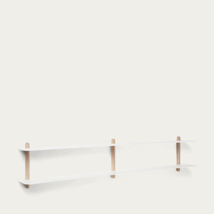 Light Oak White NIVO Shelf C | Bombinate