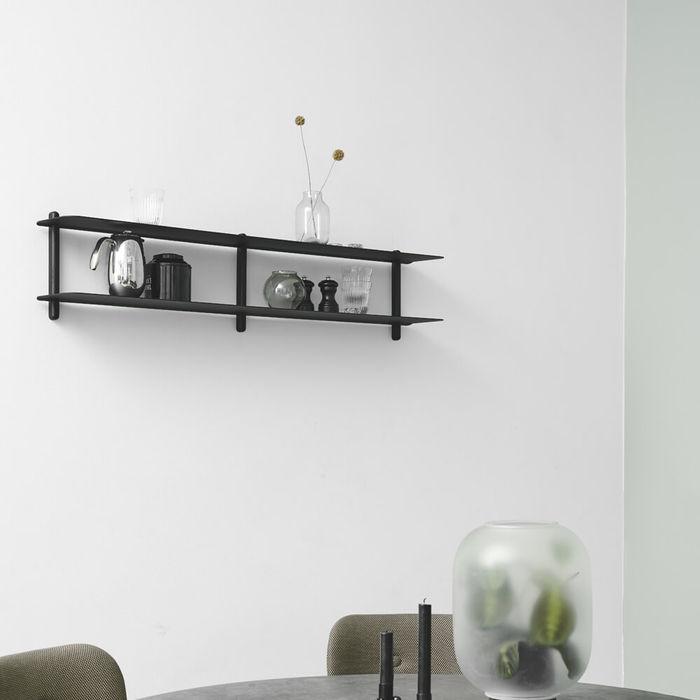 Black Ash Black NIVO Shelf C | Bombinate