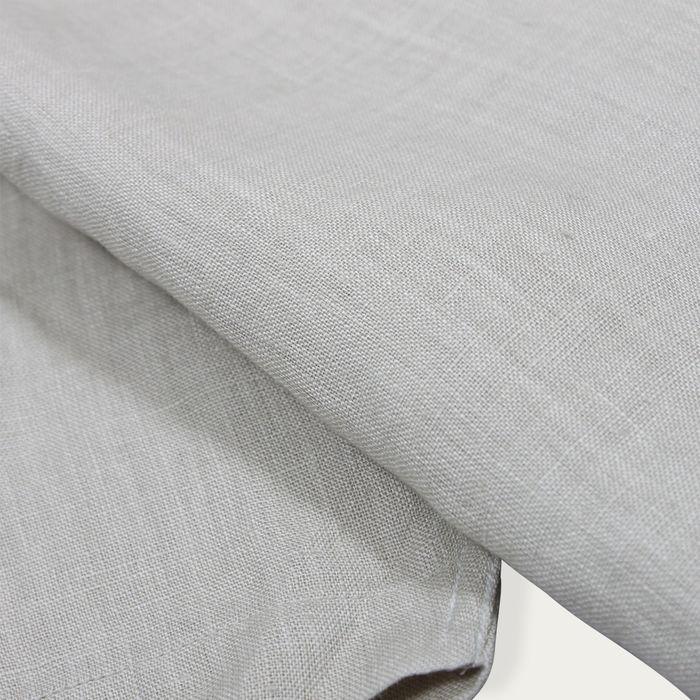 Agate Grey Linen Classic L/S Shirt  | Bombinate