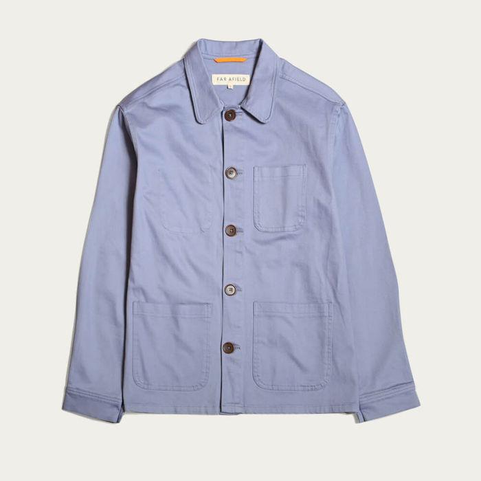 Stonewash Blue Station Jacket | Bombinate