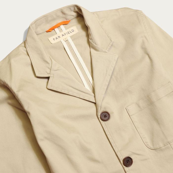 Pumice Stone Barbet Jacket | Bombinate