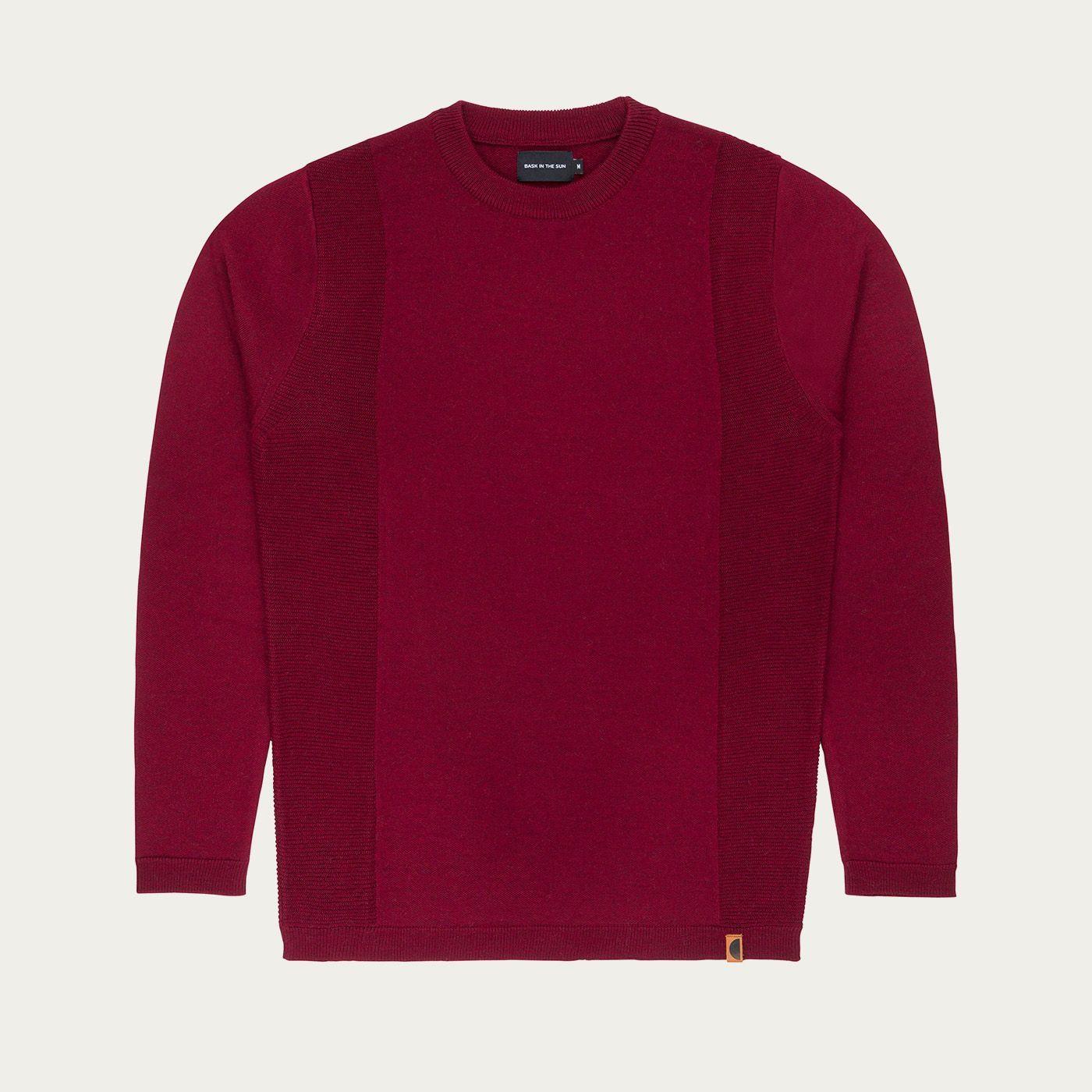 Burgundy Cristo Sweater   Bombinate