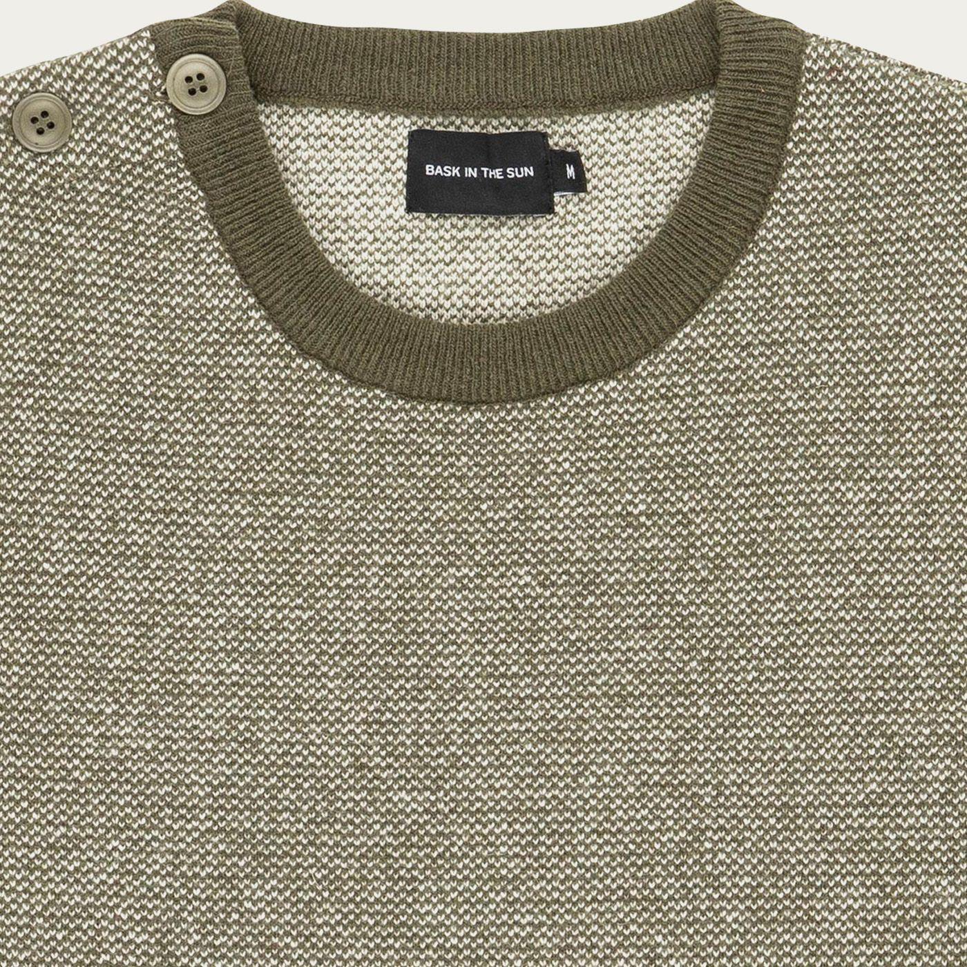kaki Mutriku Sweater   Bombinate
