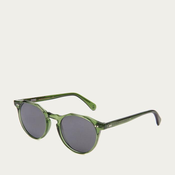 Bottle Green Conscious Kallio Medium Sunglasses | Bombinate