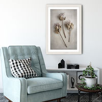 Everlasting 4 Art Print White Frame | Bombinate