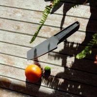 SK15 - Single Piece Stainless Steel Santoku Knife | Bombinate