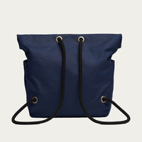 Navy Charcoal Dual Backpack  | Bombinate