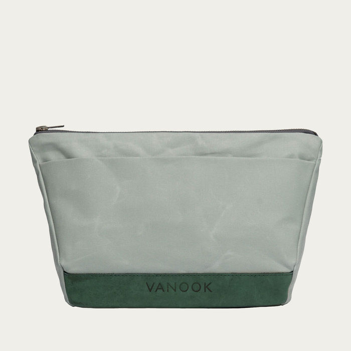 Oyster Malachite Wash Bag  | Bombinate