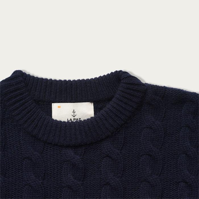 Dark Navy Fernandes Sweater | Bombinate
