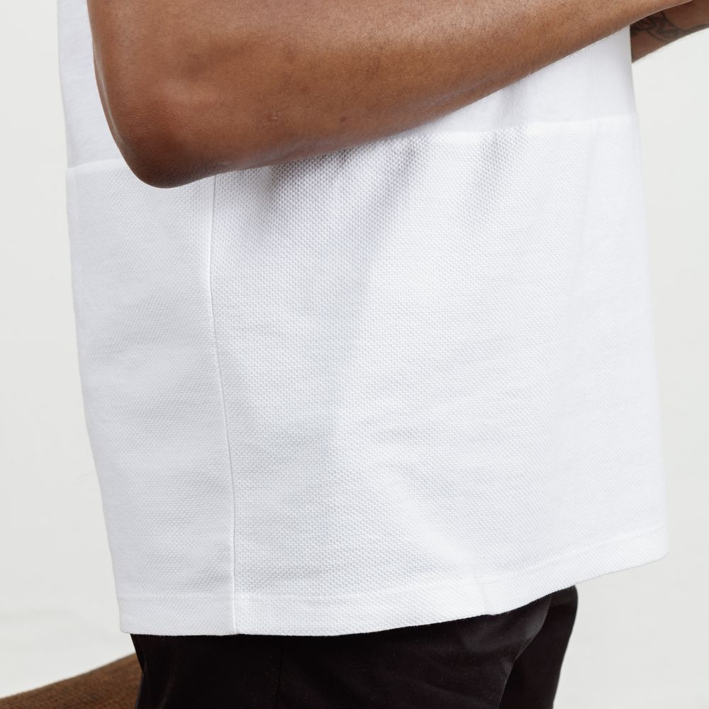 White Tailored Tee  | Bombinate