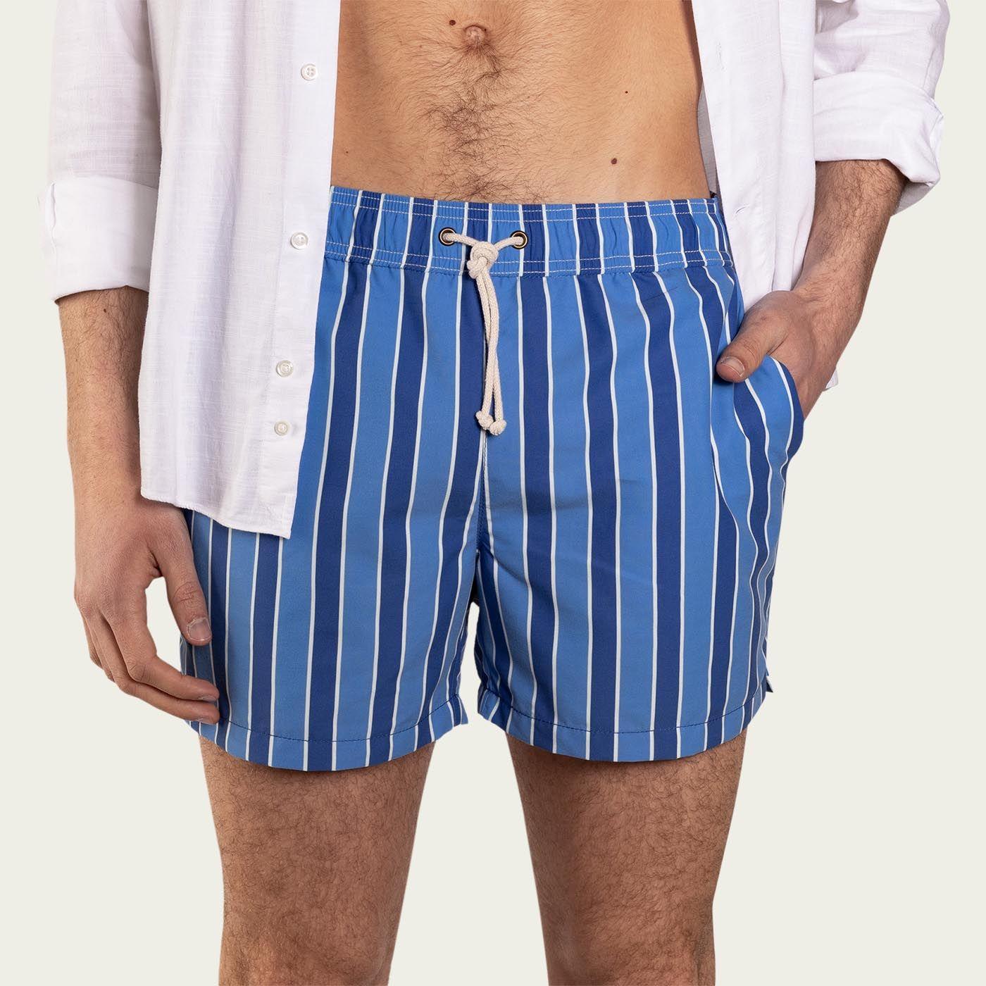 Monterosso Celeste/Blu Swim Short  | Bombinate
