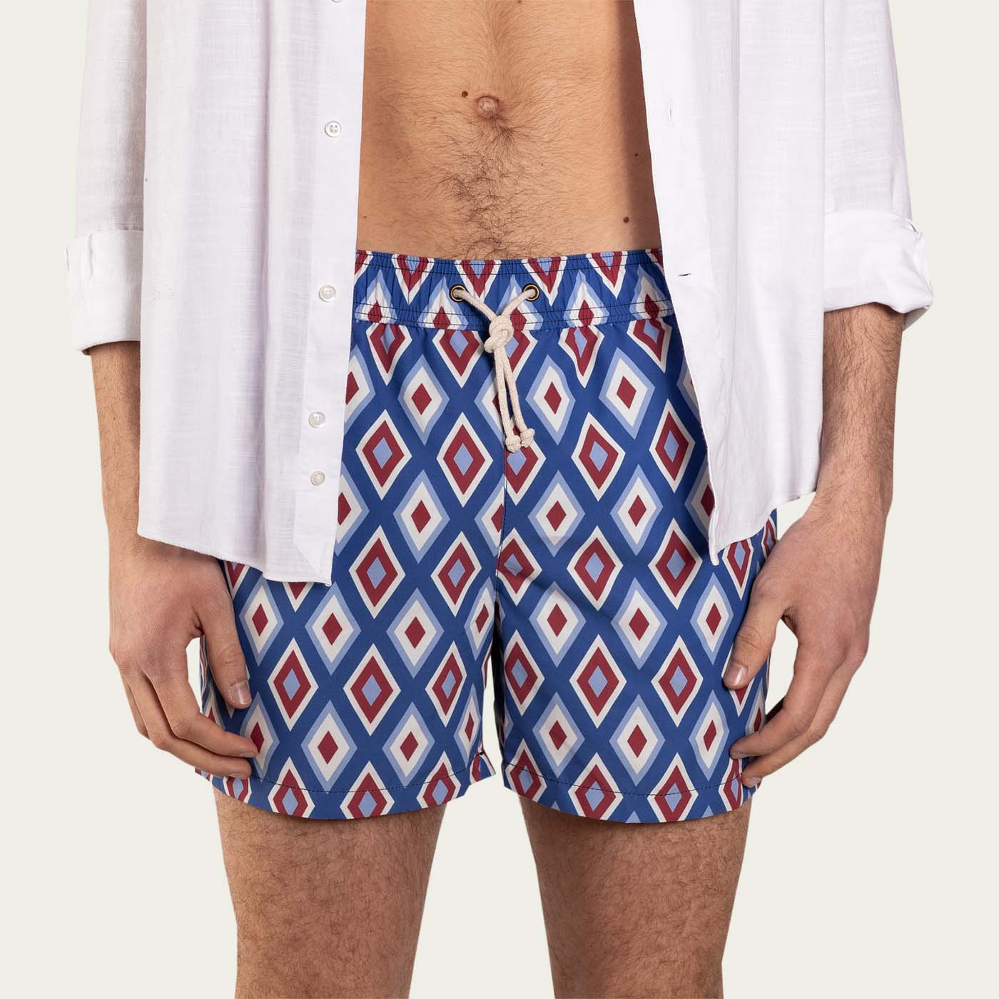 Camogli Blu Swim Short | Bombinate