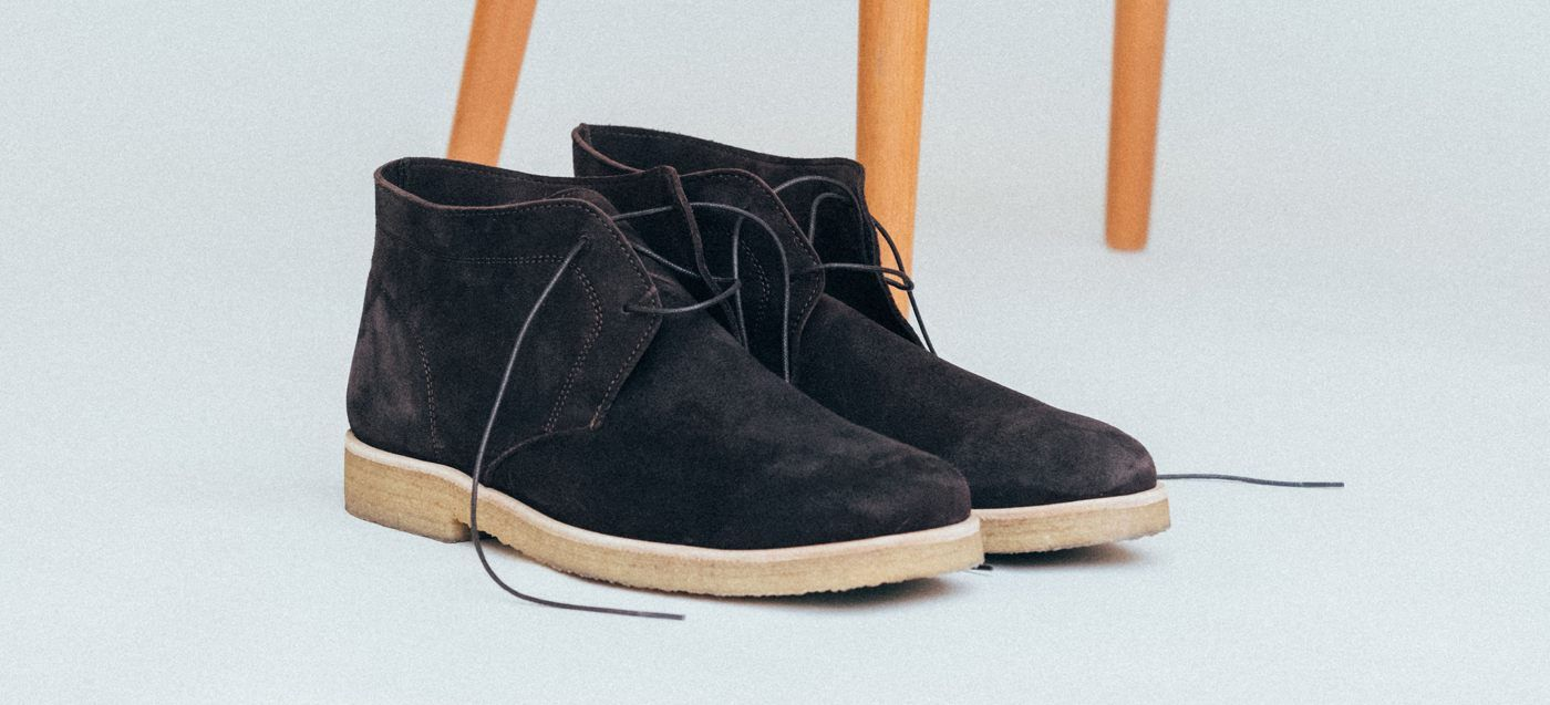 The Chocolate Chukka Boots  10