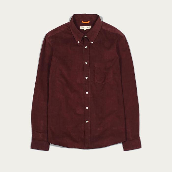 Bitter Chocolate Field LS Shirt Corduroy | Bombinate